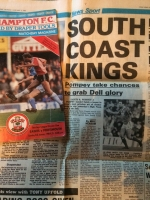 30 years on: The day Pompey were crowned at The Dell